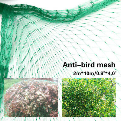 5X10M Anti Birds Crop Net Netting Garden Plants Ponds Fruit Tree Mesh Protection
