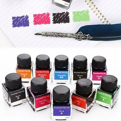 Non-Carbon Ink Fountain Pen Ink Non-Carbon 25ml Fountain Pens Stationery