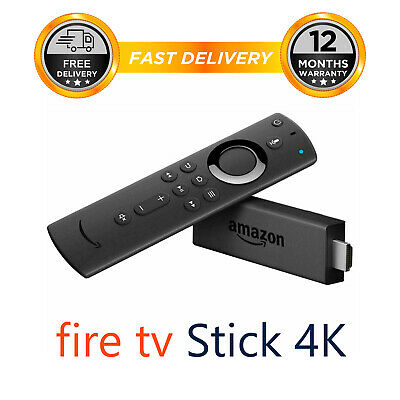 Amazon Fire TV Stick 4K Media Streamer with 2nd Gen Alexa Voice Remote