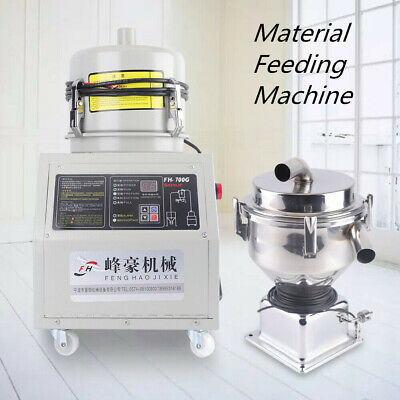 7.5L Automatic Material Feeding Machine Vacuum Feeder Auto Loader 1.2KW 110V US
