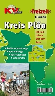 Plön Kreis 1 : 60 000 (Land-)Karte KV-Plan-Freizeit Deutsch 2015