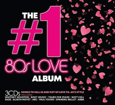 The #1 80s Love Album - Various Artists (Box Set) [CD]
