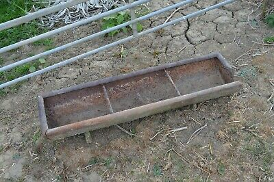 Vintage Cast Iron Trough - Use For Garden Planter/ Ornament
