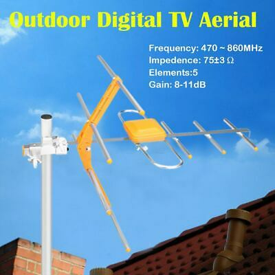4G Digital Tv Aerial Kit Freeview Hd For Indoor Outdoor Or Loft Installation Uk