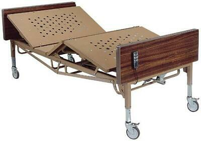 Drive Medical Full Electric Bariatric Hospital Bed - Brown