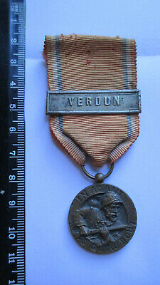 médaille de VERDUN type REVILLON  french medal of Verdun WW1