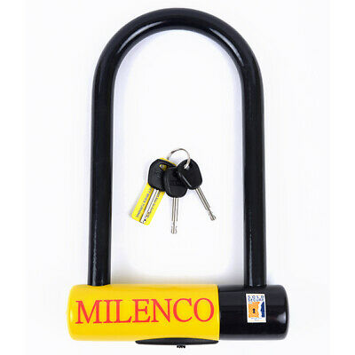 New Milenco Dundrod ++ Ulock 18X230 Security Motorbike Bike Sold Secure Gold