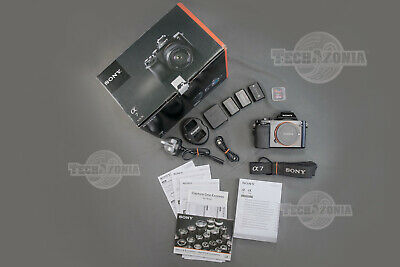 Sony Alpha A7 24.3MP Low Shutter ILCE7 E-mount Full Frame Mirrorless Camera Body