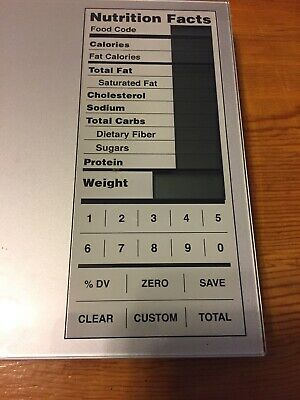 Digital Food scale: Perect Portions