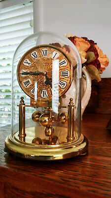 Kieninger & Obergfell Kundo 400 day Anniversary Brass Dome Germany Clock