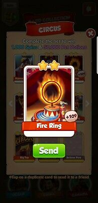 5 Fire Ring Coin Master Quick Delivery