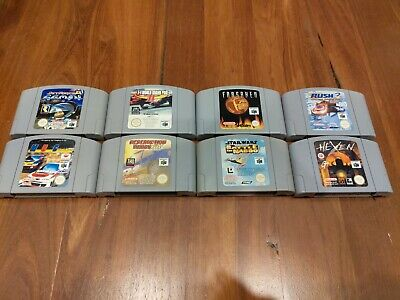 8x Nintendo 64 PAL Games lot - Cartridge Only - GENUINE