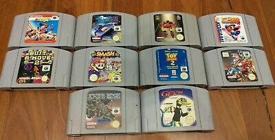 10x Nintendo 64 Games lot - Cartridge Only - GENUINE (some faulty)