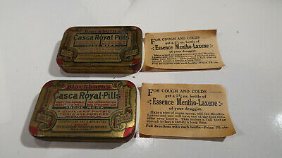 Blackburn's Casca Royal Pills Tin