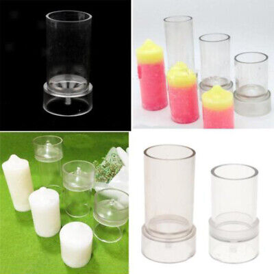 Clear Candle Making Molds Model Candle Mould DIY Candle Craft Soap Mold