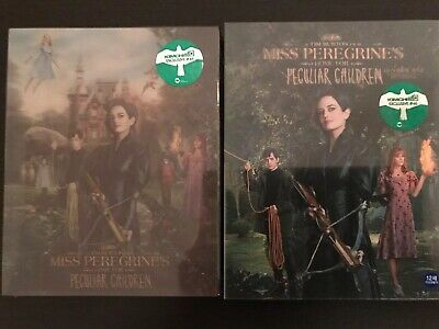 Miss Peregrines Home For Peculiar Children KimchiDVD 1-Click Blu-ray Steelbook