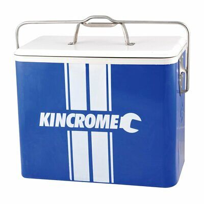 Kincrome Retro Esky06 25L Litre Blue Ice Box Bottle Cooler Icebox Fishing Lunch
