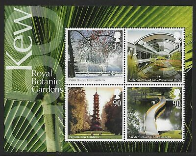 """Great Britain 2009. """"KEW ACTION FOR SPECIES. PLANTS"""". MINI SHEET. MNH. FV £3.20"""