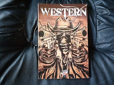 Western Accent U.K anthology graphic novel as new condition