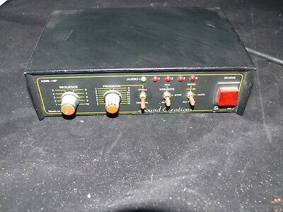 SOUND CREATIONS Professional light controller chaser 2 Bulgin sockets AS85 - 16P