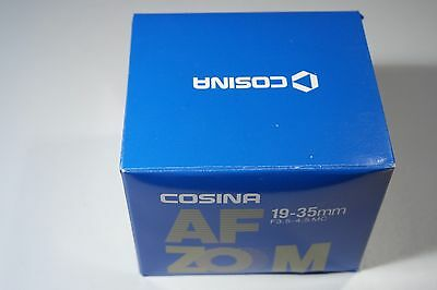 COSINA 19-35mm F3.5-4.5 MC for Canon EOS AF zoom mount system lens objektiv