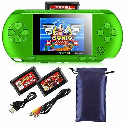 16 Bit PXP3 Portable Handheld Video Game Console Built In 150+ Game Kids Player