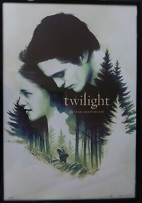 """Twilight 10th Year Anniversary Fathom Events Exclusive Poster, 13.25 X 19.5"""""""