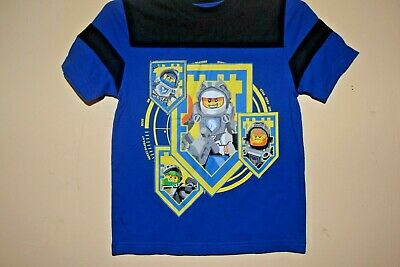 THE LEGO MOVIE//LET/'S RUMBLE-BOYS 5//6 /& 10//12-LICENSED SHORT SLEEVE TOP-NWOT-GRAY