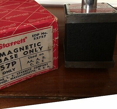 Starrett Magnetic Base 657P