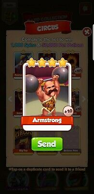 Armstrong Coin Master Quick Delivery