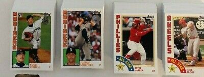 2019 Topps Series 2 >1984 Rookies & All-Stars >Parallels Blue/Black/Red/Gold/150