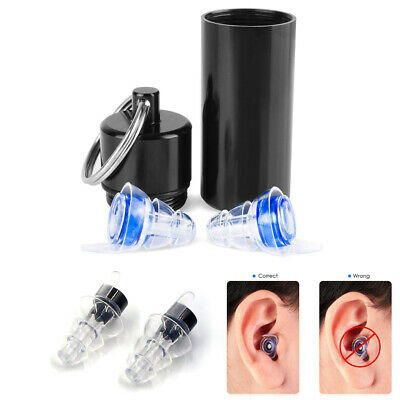 HOT Noise Cancelling Ear Plugs Hearing Protection Music Concerts Sleeping