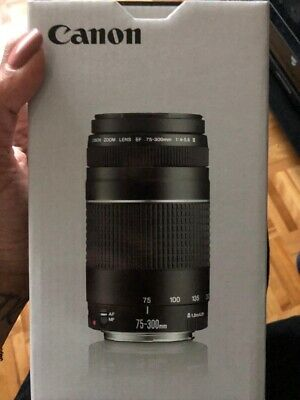 Canon 75-300mm f/4-5.6 III Zoom Lens *BRAND NEW