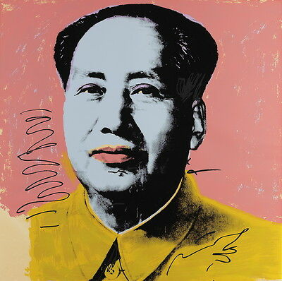 Andy Warhol Mao Giclee Canvas HD Print Painting Art Poster Multi Sizes