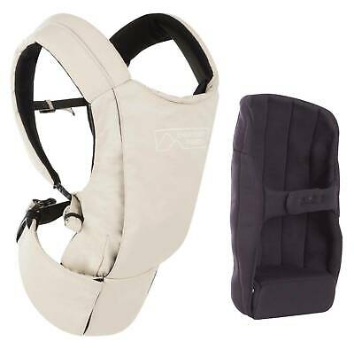 Mountain Buggy Juno Baby Carrier & Infant Insert Bundle - Neutral Sand