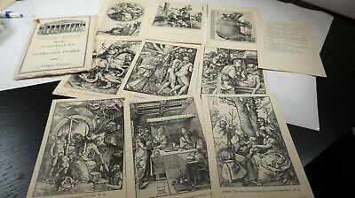 15 Postcards by British Museum Set 82 Woodcuts by Albrecht Durer Post Cards
