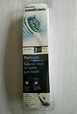 Philips Sonicare HX6013 ProResults Replacement Toothbrush Heads x 1 Pack 3 Heads