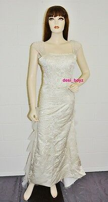 Brand New - Romantic Angel Beaded Wedding / Formal Dress Size: US 4