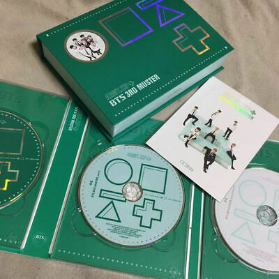 BTS Bangtan Boys 3RD MUSTER ARMY.ZIP+ DVD 3 DISC Postcard First Purchase Benefit