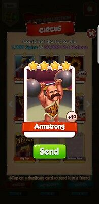 5 Armstrong Coin Master Quick Delivery