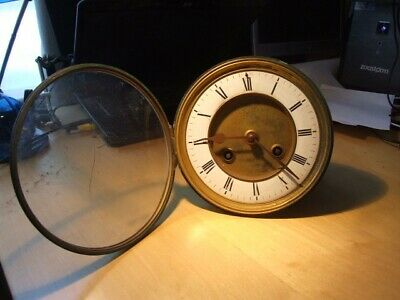 Old French Clock Movement. Gay Vicarino approx 6 1/2 inch diameter