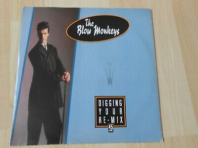 The Blow Monkeys   Digging Your Re-Mix  1986  10""