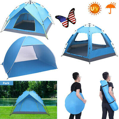 4 Person Camping Dome Tent Instant Pop Up Waterproof Outdoor Automatic Folding