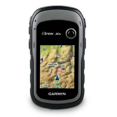 Garmin eTrex 30x Handheld GPS, 3.7GB Topo Bundle w/BirdsEye subscription