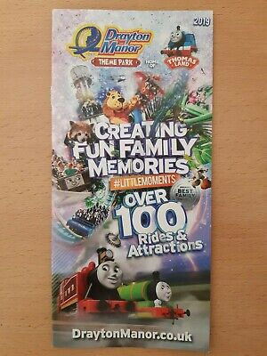 Drayton Manor Theme Park 2019 Visitors Map & Guide