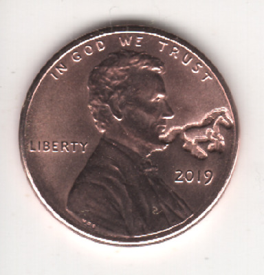 2019 Lincoln Cent LUCKY HORSE Counterstamp Keepsake Collector Penny Coin CS3019