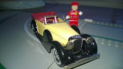 Matchbox Yesteryear Y11 1938 Cream Lagonda DHC O Guage ? Model made in  England
