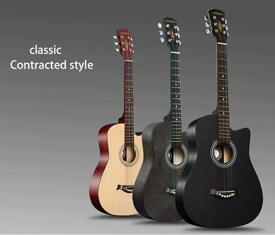 Andrew 38 inch classic color basswood classical acoustic guitar
