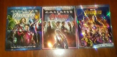 The Avengers Trilogy  (Blu-ray's)