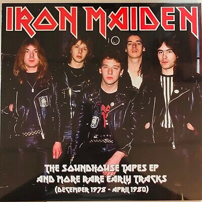 Iron Maiden, The Soundhouse Tapes E.p. And Rare Early Tracks,Lp Vinyl, Import